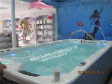 福州伊貝莎嬰兒游泳池豪華亞克力一體池