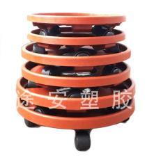 轮式花盆托盘
