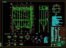 XSD高壓靜電除塵器圖紙說明書