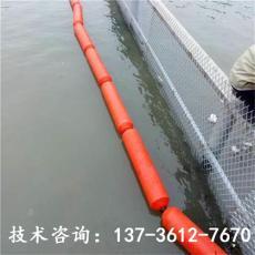 福建水电站拦污排挂网塑料浮筒厂家