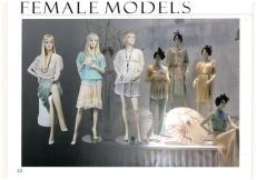 优质全身女模橱窗模特生产厂家