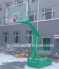 黑龙江哈尔滨通河县学校篮球架