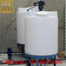 咸陽5噸洗潔精配料罐塑料攪拌罐