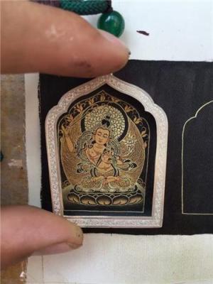 广州哪里有卖手工小唐卡西藏小唐卡