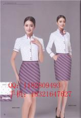 女式春季长袖衬衫 棉衬衫 工作服衬衫