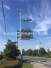四川自貢6米30瓦信之照明太陽能路燈安裝