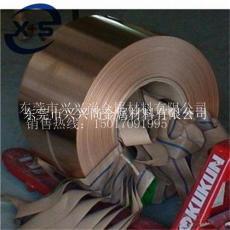 C17200高铍铜带现货 铍铜带宽度分条