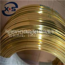 H68黄铜扁线 拉链用黄铜扁线生产商