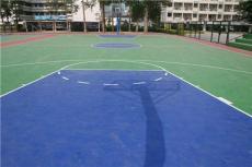 硅pu地坪球场跑道体育场地坪漆篮球场幼儿园