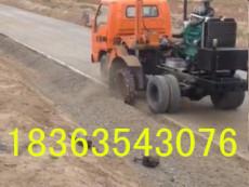 專業農用車路邊石開槽機輪式路牙子刨溝機