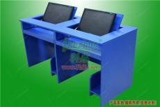 贵阳多媒体学校翻转电脑桌 学生教室桌