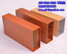 山西铝型材幕墙 木纹铝方管 异形铝方通厂家