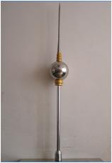 提前放电避雷针 球形避雷针1.5米报价含运费