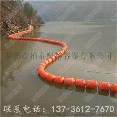 桂林湖面大跨度警示浮筒设计