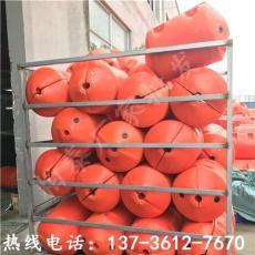海城區湖面警示浮筒安裝攔污浮體