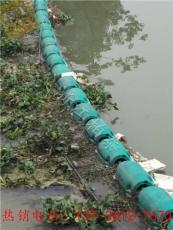 專業設計施工水電站浮筒式攔污導漂排