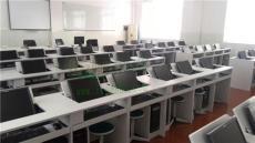 上海多功能機房培訓翻轉電腦桌