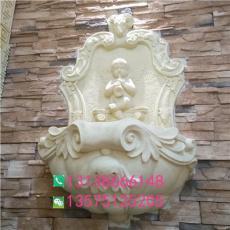 仿砂岩庭院家居流水挂件人造石欧式喷水壁挂