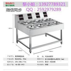 全自動商用數碼電煲仔爐一體機雙列單層8頭