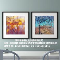 深圳市龍崗區裝裱配畫華南城 平湖裱畫分店