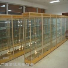 广西君诚jc-001钢木展示柜 书柜 酒柜 厂家