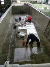 广西水池内衬酸碱池防腐现场施工
