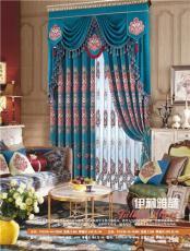 摩尔登窗帘的款式与制作窗帘布艺十大名牌