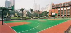 PU聚氨酯塑膠跑道 籃球場地坪