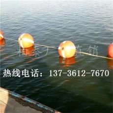 赞皇水库隔离浮球40公分单耳浮漂