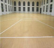 天津室内篮球场施工 枫木纹地胶