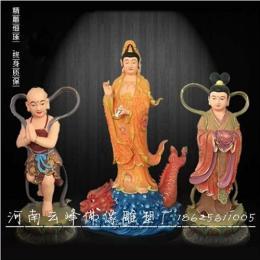 宗教神像 鳌鱼观音佛像2.6米
