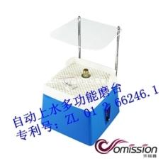 220V蓝色电动磨台家用电动工具自动上水仪器