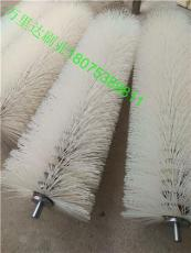 尼龙毛刷辊 清洗刷辊 缠绕式尼龙毛刷辊