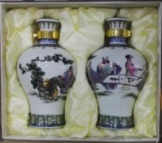 加工陶瓷酒瓶定做周期报价生产异形陶瓷酒瓶