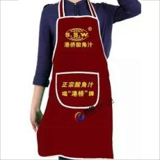 昆明圍裙 昆明廣告圍裙訂做設計印字送貨