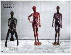 庐山陈列电镀模特展示道具厂家长期专业批发