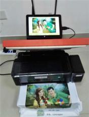 個性地攤流動 T恤手機殼印照片的機器