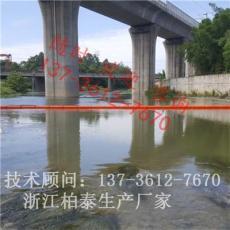 凤台水库自动升降式拦污浮排图片