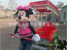 机器人拉车广场儿童游乐设备厂家