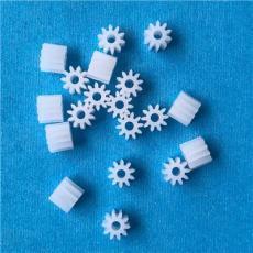 塑胶M0.5*10T塑胶玩具马达齿轮 玩具齿轮厂