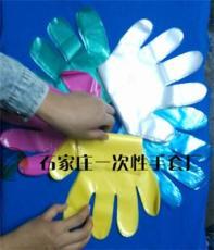 高壓透明度高麻紋防滑一次性PE手套