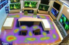 实体店铺客流热区热力图统计分析系统