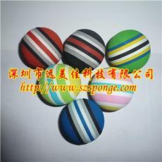 软弹力海绵球 PVC发泡泡沫球定制 软塑胶厂
