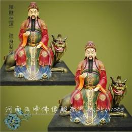 雷祖雷神佛像 九天应元雷声普化天尊神像