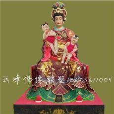 树脂佛像女娲老母托老老母佛像