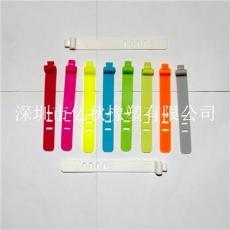 深圳龙华大浪硅胶捆线带 硅胶绑线带 USB扎