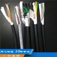 12芯灰色TPU高弹性抗扭机器人信号电缆厂家