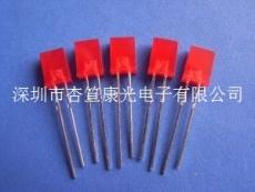 10MM红白双色平面管