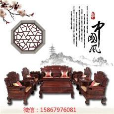 東陽紅木家具廠/印尼黑酸枝財源紅木沙發