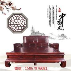 印尼黑酸枝臥室/東陽紅木家具大床頂箱柜
